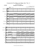 Concerto for Two English horns in C Major