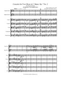 Concerto for Two English horns and String Orchestra in C Major